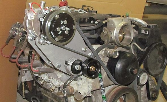 1998-2002 Camaro & Firebird LS1 Compressor Bracket