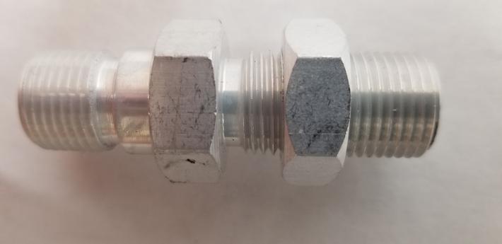 Single A/C Bulkhead Fittings O-Ring Style