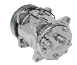 Sanden 508 Rear Exit V-Belt Compressor
