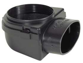 Right Angle Vent Hose Adapter - 2-1/2""