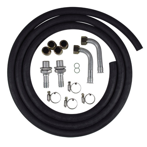 Heater Hose Kit with Barbed Fittings