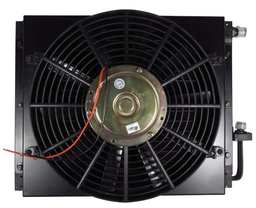 "14"" x 18"" Remote Mount Air Conditioning Condenser with Fan & Shroud"
