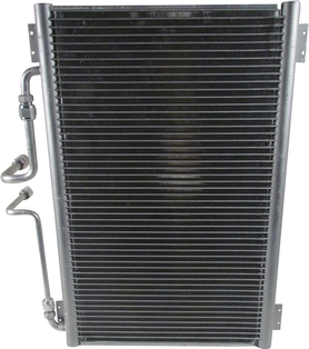 Condenser with Side Exit kit Installed